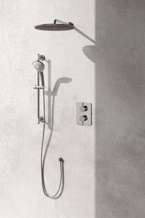Allure Shower System Chrome