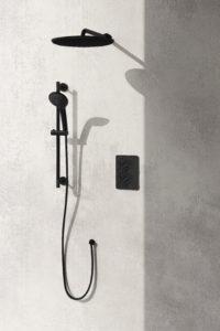 Daphne Shower System Black