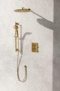 Daphne Shower System Gold