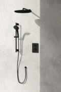 Golden Night Shower System Black
