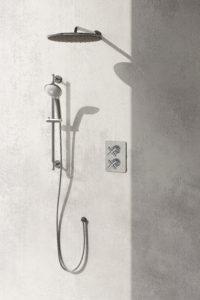Infinity Shower System Chrome
