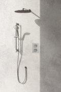 MIA Shower System Chrome